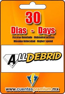 Cuenta Premium de Alldebrid de 30 Dias