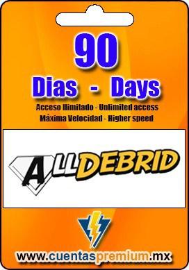 Cuenta Premium de Alldebrid de 90 Dias