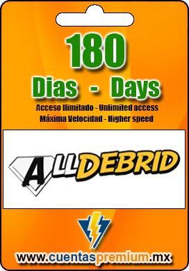 Cuenta Premium de Alldebrid de 180 Dias