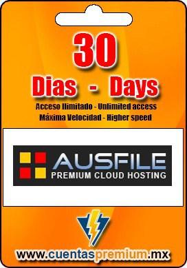 Cuenta Premium de Ausfile de 30 Dias