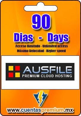 Cuenta Premium de Ausfile de 90 Dias
