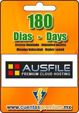 Cuenta Premium de Ausfile de 180 Dias