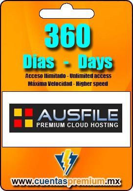 Cuenta Premium de Ausfile de 360 Dias