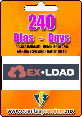 Cuenta Premium de Ex-Load de 240 Dias