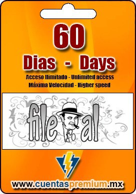 Cuenta Premium de File-al de 60 Dias