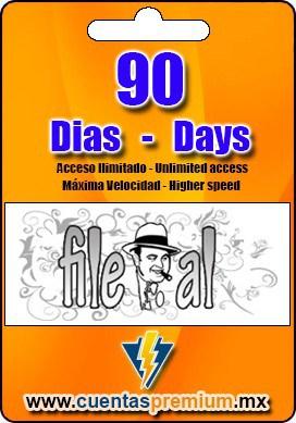 Cuenta Premium de File-al de 90 Dias