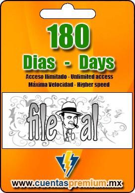 Cuenta Premium de File-al de 180 Dias