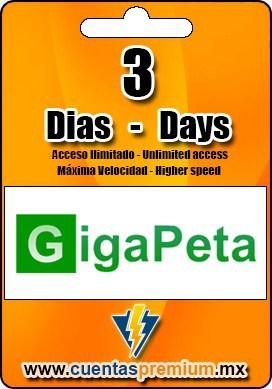 Cuenta Premium de GigaPeta de 3 Dias