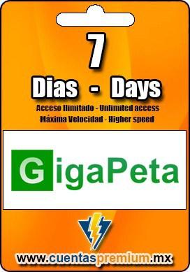 Cuenta Premium de GigaPeta de 7 Dias