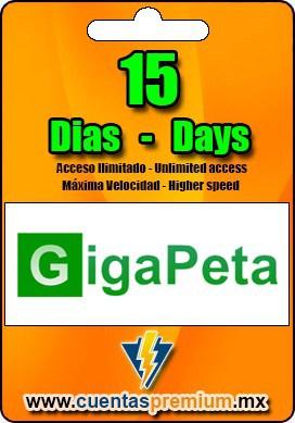 Cuenta Premium de GigaPeta de 15 Dias
