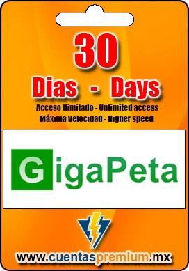 Cuenta Premium de GigaPeta de 30 Dias