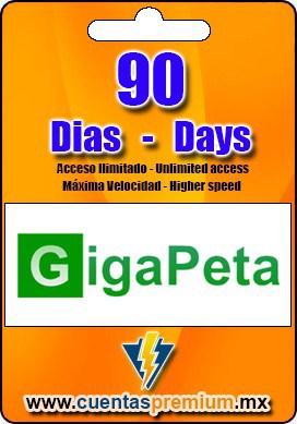 Cuenta Premium de GigaPeta de 90 Dias