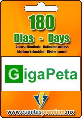 Cuenta Premium de GigaPeta de 180 Dias