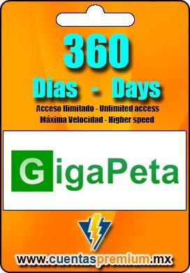 Cuenta Premium de GigaPeta de 360 Dias