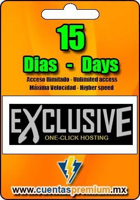 Cuenta Premium de ExclusiveLoader de 15 Dias