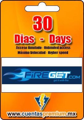 Cuenta Premium de FIREGET de 30 Dias