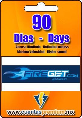 Cuenta Premium de FIREGET de 90 Dias