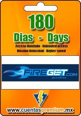 Cuenta Premium de FIREGET de 180 Dias
