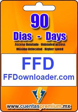 Cuenta Premium de FFDownloader de 90 Dias