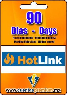 Cuenta Premium de HotLink de 90 Dias