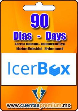 Cuenta Premium de IcerBox de 90 Dias