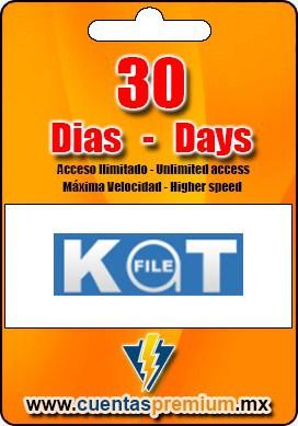 Cuenta Premium de KatFILE de 30 Dias