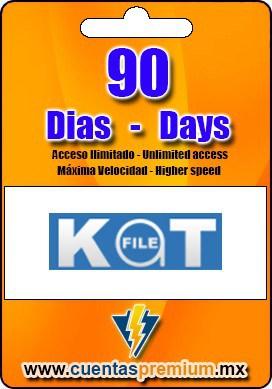 Cuenta Premium de KatFILE de 90 Dias