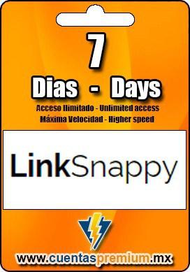Cuenta Premium de LinkSnappy de 7 Dias