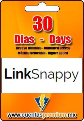 Cuenta Premium de LinkSnappy de 30 Dias