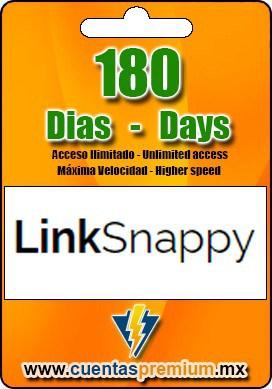 Cuenta Premium de LinkSnappy de 180 Dias