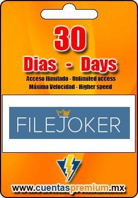 Cuenta Premium de FILEJOKER de 30 Dias