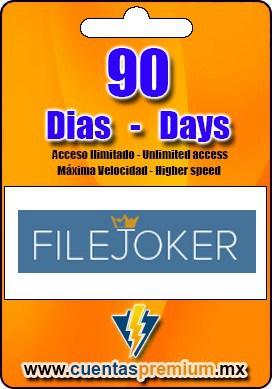 Cuenta Premium de FILEJOKER de 90 Dias
