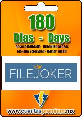 Cuenta Premium de FILEJOKER de 180 Dias