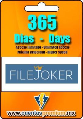 Cuenta Premium de FILEJOKER de 365 Dias