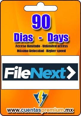 Cuenta Premium de FileNext de 90 Dias