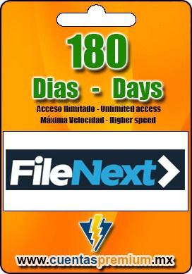 Cuenta Premium de FileNext de 180 Dias