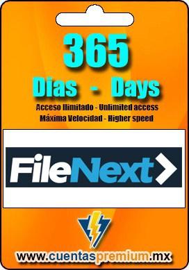 Cuenta Premium de FileNext de 365 Dias