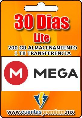 Cuenta Premium de Mega-Lite de 30 Dias
