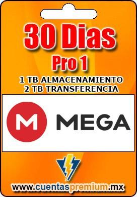 Cuenta Premium de Mega-Pro-1 de 30 Dias