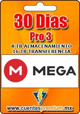 Cuenta Premium de Mega-Pro-3 de 30 Dias