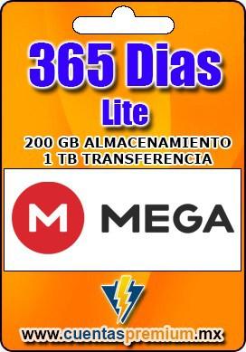 Cuenta Premium de Mega-Lite de 365 Dias