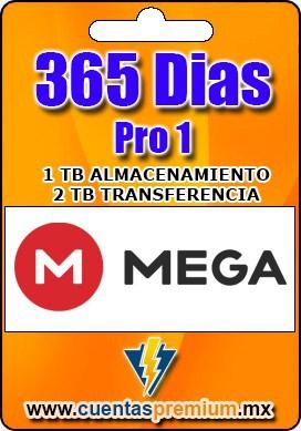Cuenta Premium de Mega-Pro-1 de 365 Dias