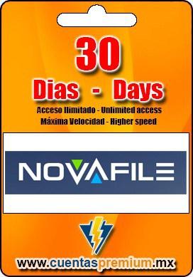 Cuenta Premium de NOVAFILE de 30 Dias