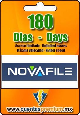 Cuenta Premium de NOVAFILE de 180 Dias
