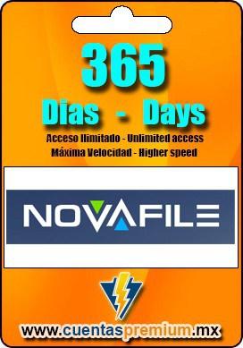 Cuenta Premium de NOVAFILE de 365 Dias