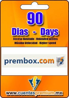 Cuenta Premium de prembox de 90 Dias