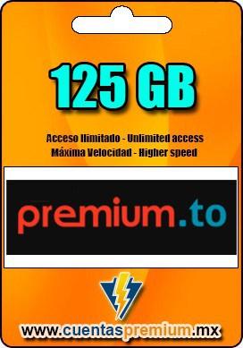 Cuenta Premium de premium-to de 125 GB