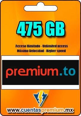 Cuenta Premium de premium-to de 475 GB