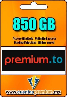 Cuenta Premium de premium-to de 850 GB