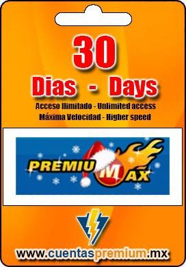 Cuenta Premium de PREMIUMAX de 30 Dias